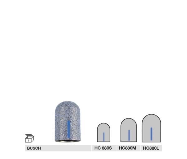 HC880 S, HC880 M, HC880 L HYBRIDCAP MEDIUM GRIT