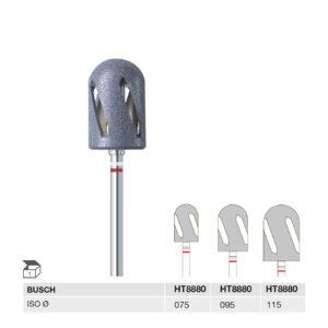 HT8880 075 HP, HT8880 095 HP, HT8880 115 HP HYBRIDTWISTER MEDIUM GRIT