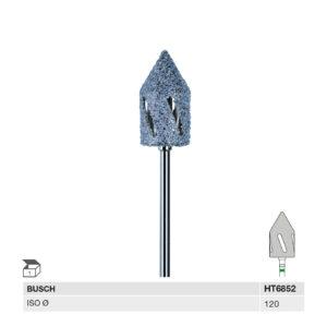 HT6852 120 HP HYBRIDTWISTER TAPERED-TIP, vidutinio šiurkštumo hibridinė danga