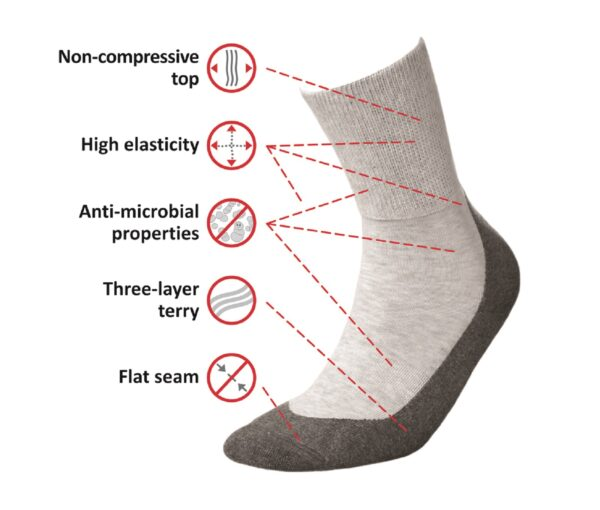 Medic Deo Cotton medical socks