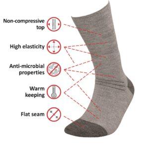 Medic Deo Silverwool medizinische Socken