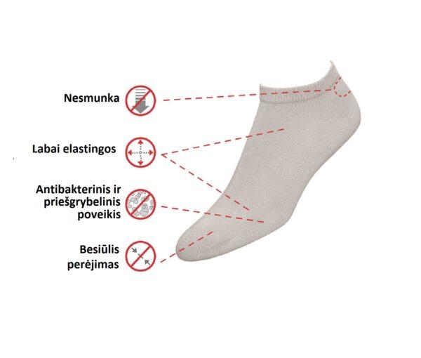 Mini Bamboo medical socks